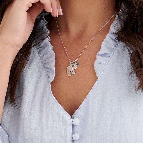 Mom Jewelry - Baby Feet Necklace - 3